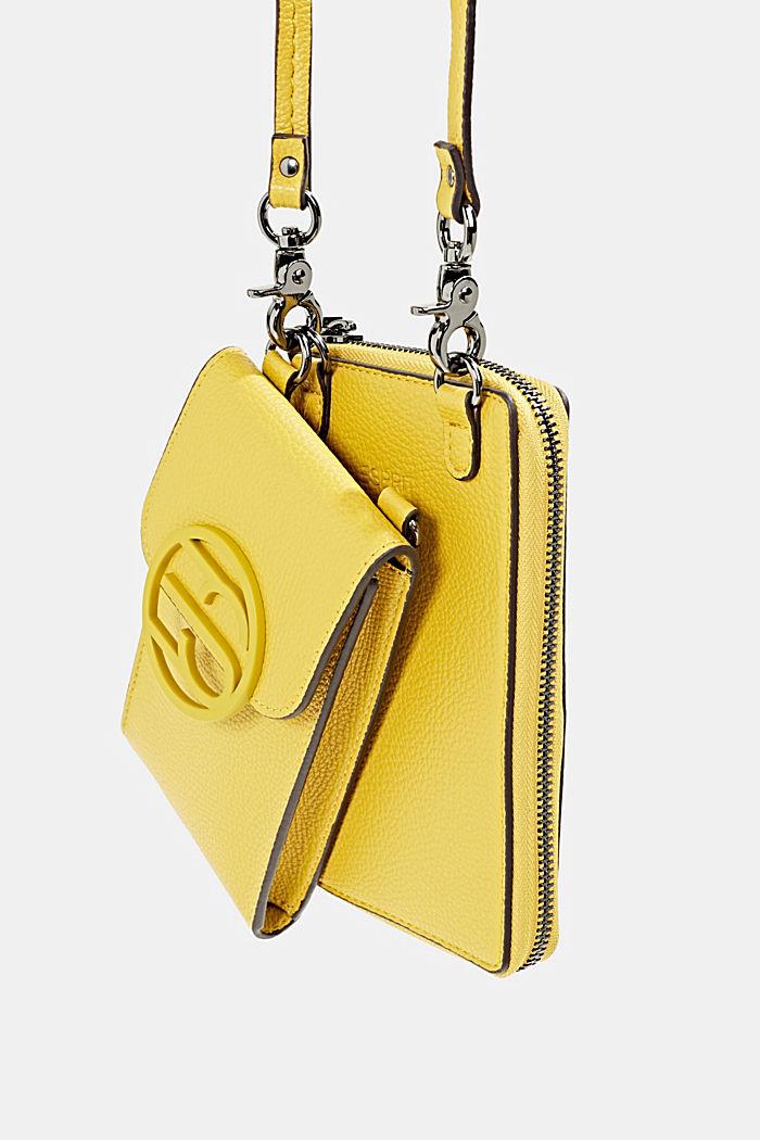 Monogram range: phone bag and purse, BRASS YELLOW, detail image number 5