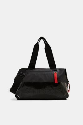 Ultra lightweight sports bag made of nylon, BLACK, detail