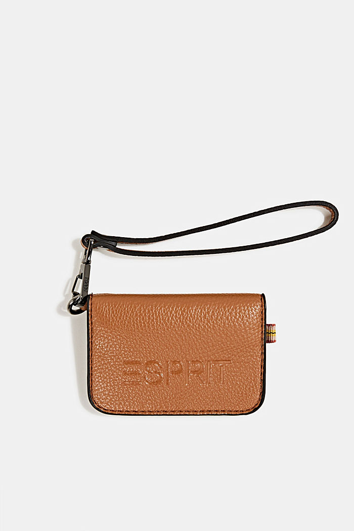 Small faux leather wallet