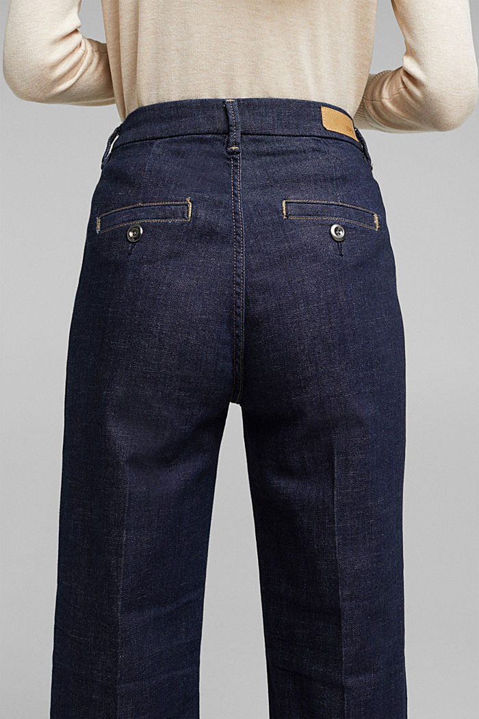 Wide-leg jeans containing organic cotton, BLUE RINSE, detail image number 2