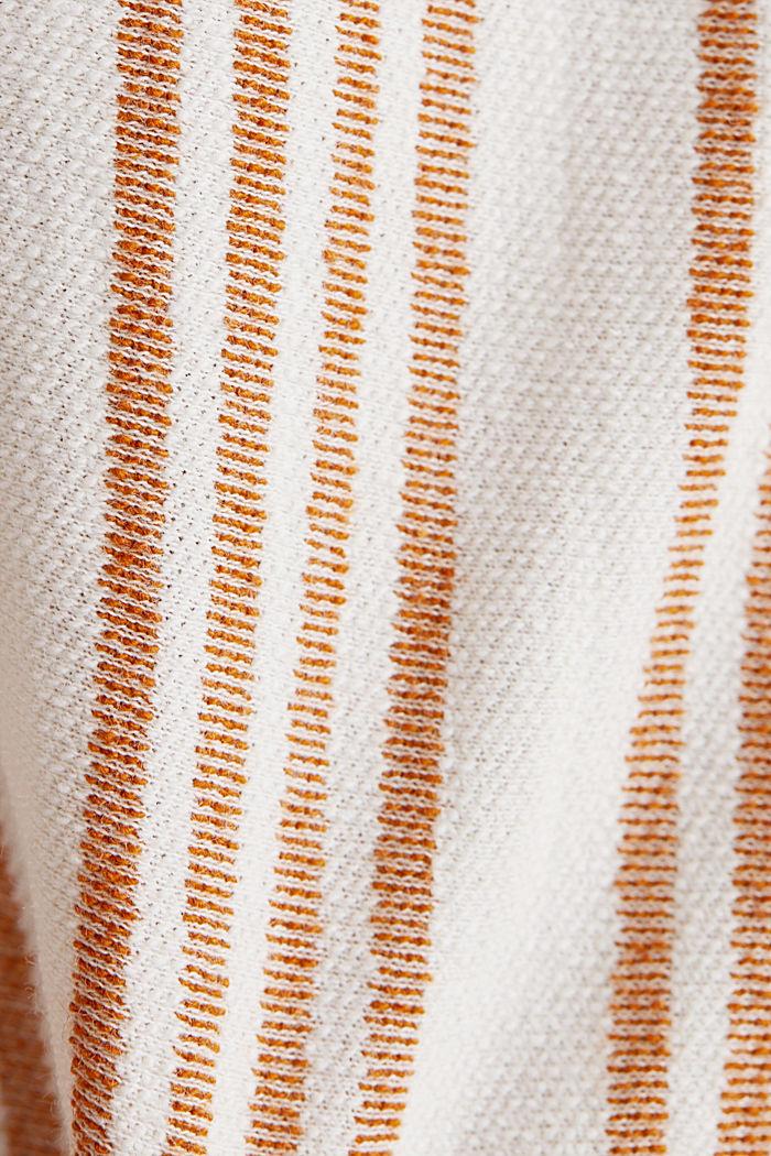 Mit Leinen: Culotte, Bio-Baumwolle, RUST BROWN, detail image number 4