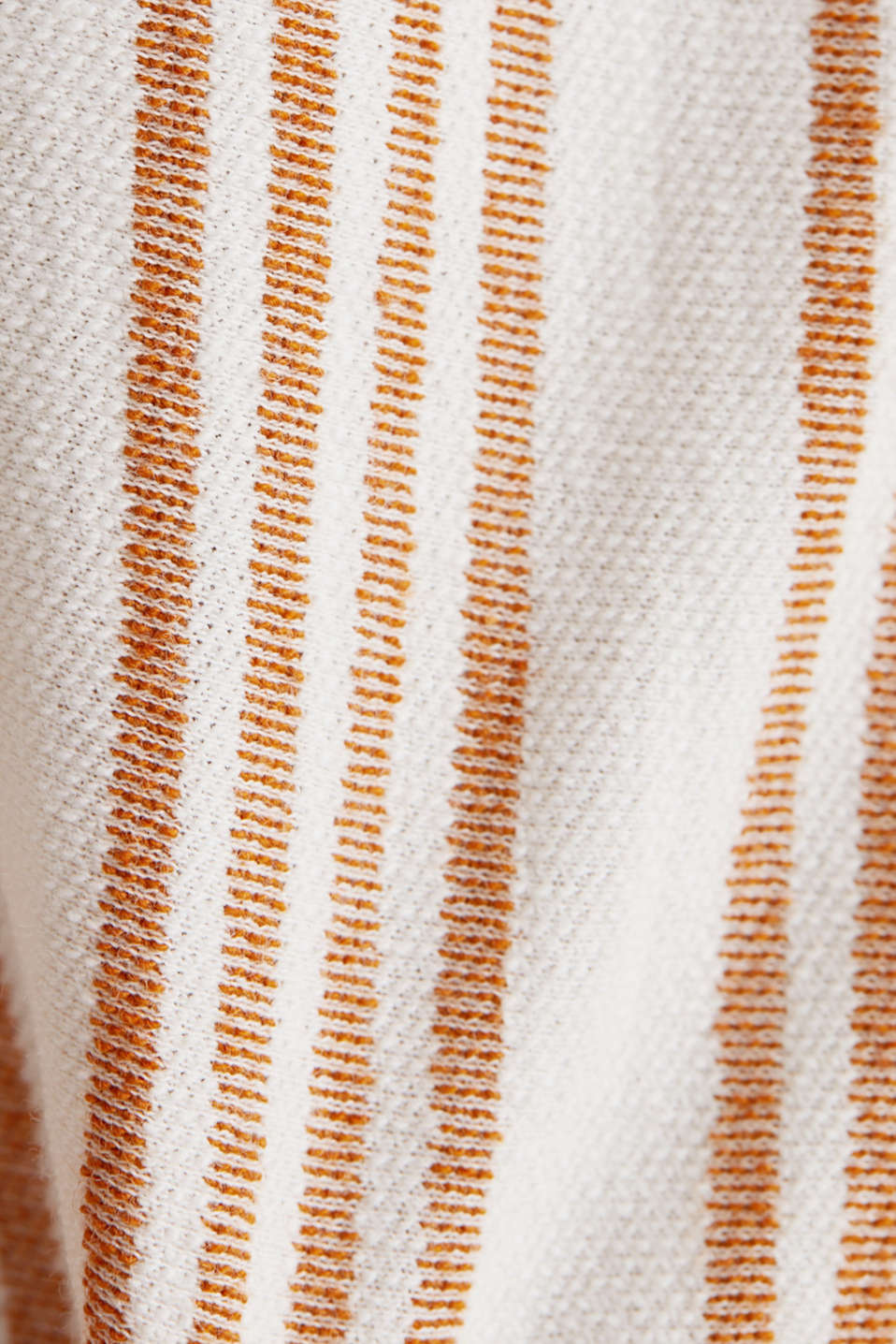 Culottes made of organic cotton with linen, RUST BROWN, detail image number 4