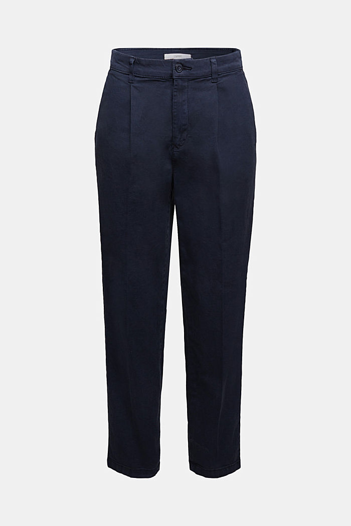 Chino mit Organic Cotton, NAVY, detail image number 7