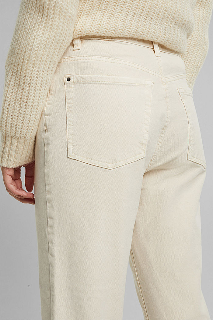 Trousers with organic cotton, OFF WHITE, detail image number 2