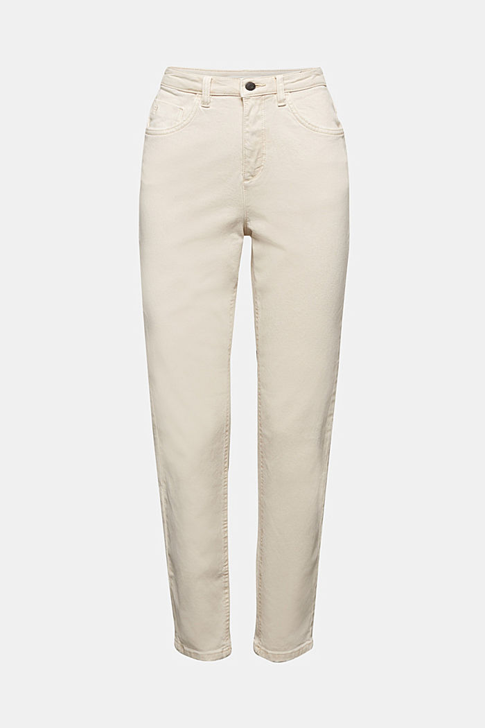 Trousers with organic cotton, OFF WHITE, detail image number 5