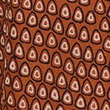 Midi jersey skirt with an all-over print, RUST BROWN, swatch