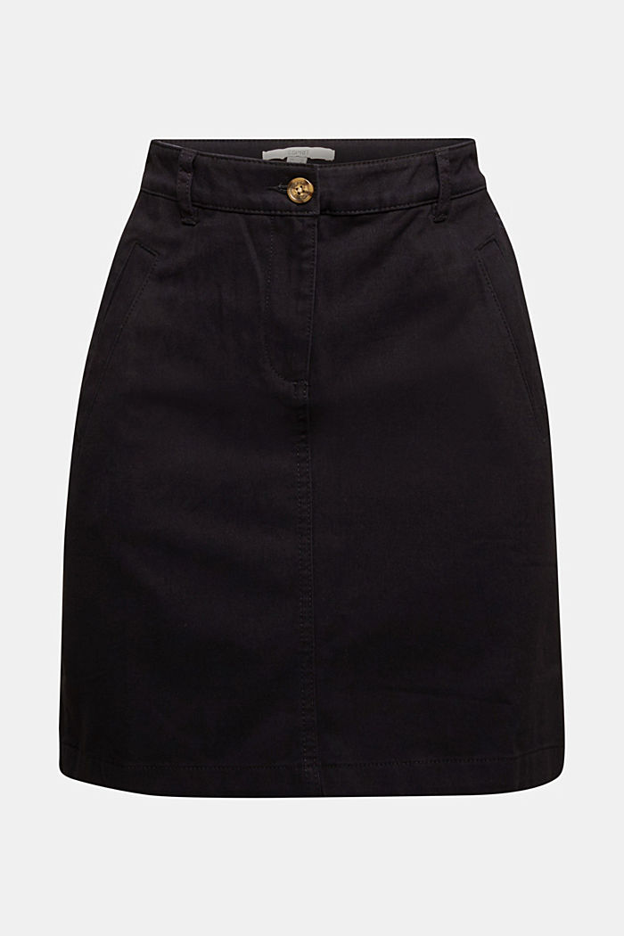 Mini-jupe en 100 % coton