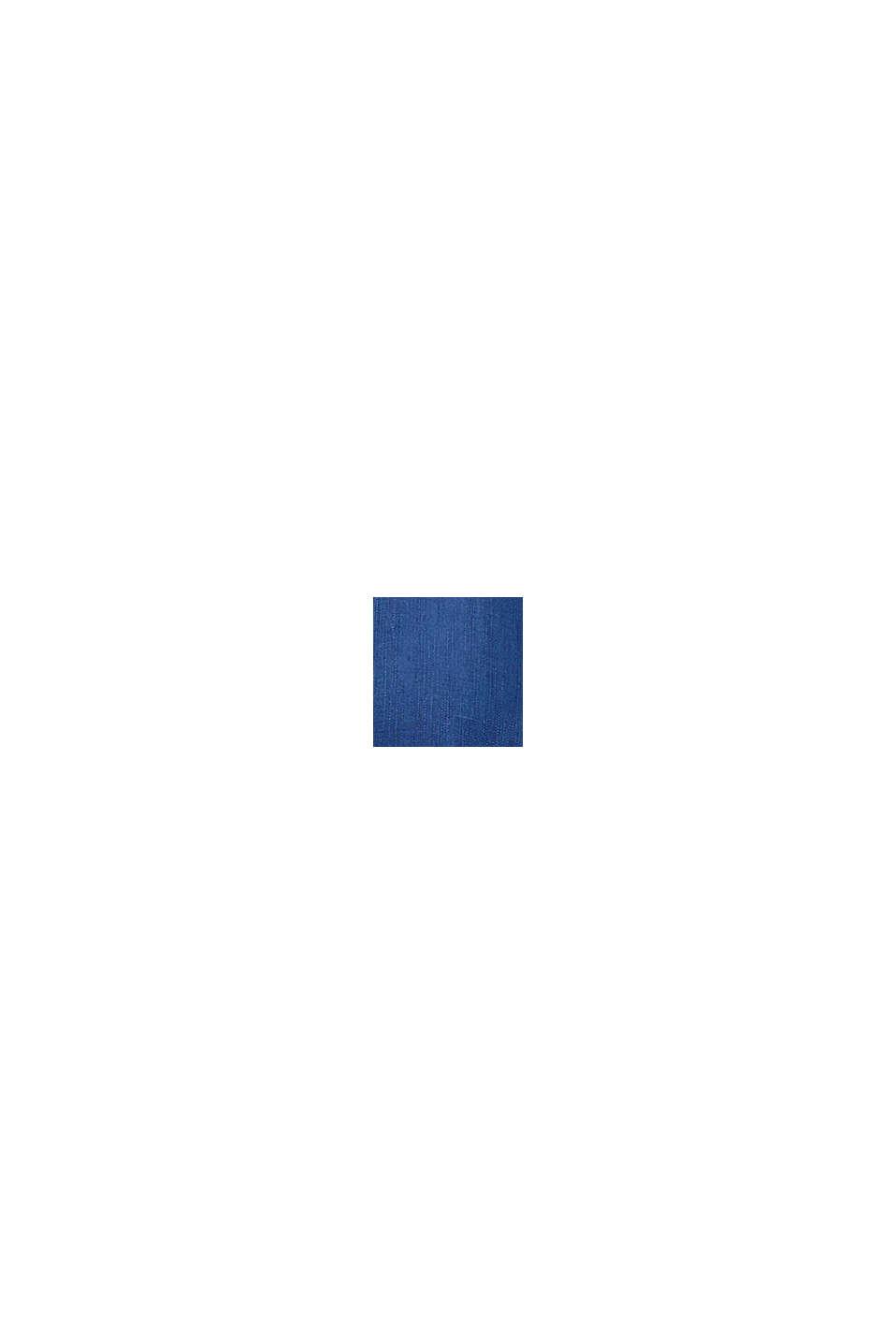 Z lyocellem: bluzkowy top TENCEL™, BLUE DARK WASHED, swatch