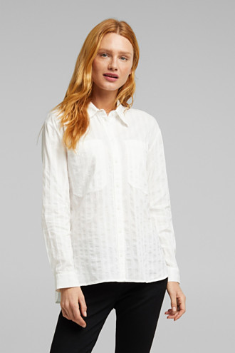 Blouse made of 100% organic cotton