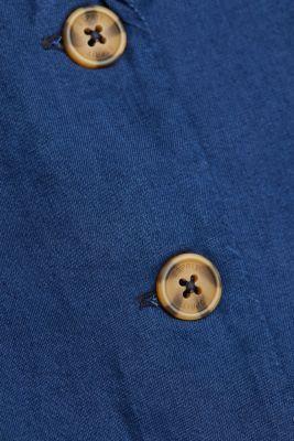 100% lyocell blouse, BLUE DARK WASH, detail