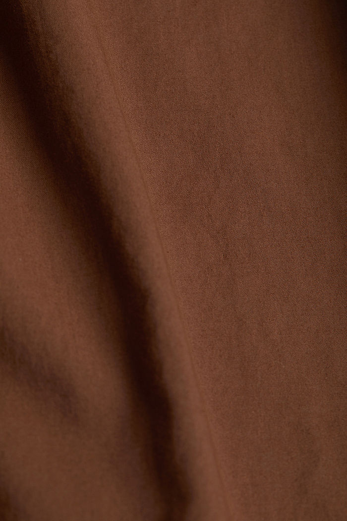 EarthColors® Long-Bluse Bio-Baumwolle, RUST BROWN, detail image number 4
