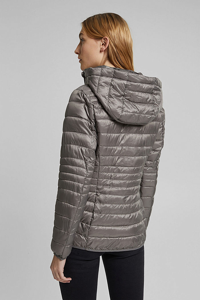Quilted jacket with 3M™ Thinsulate™ padding, LIGHT GUNMETAL, detail image number 3