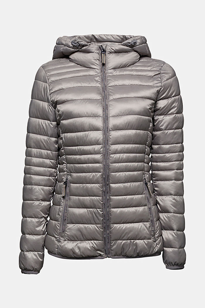 Quilted jacket with 3M™ Thinsulate™ padding, LIGHT GUNMETAL, detail image number 4