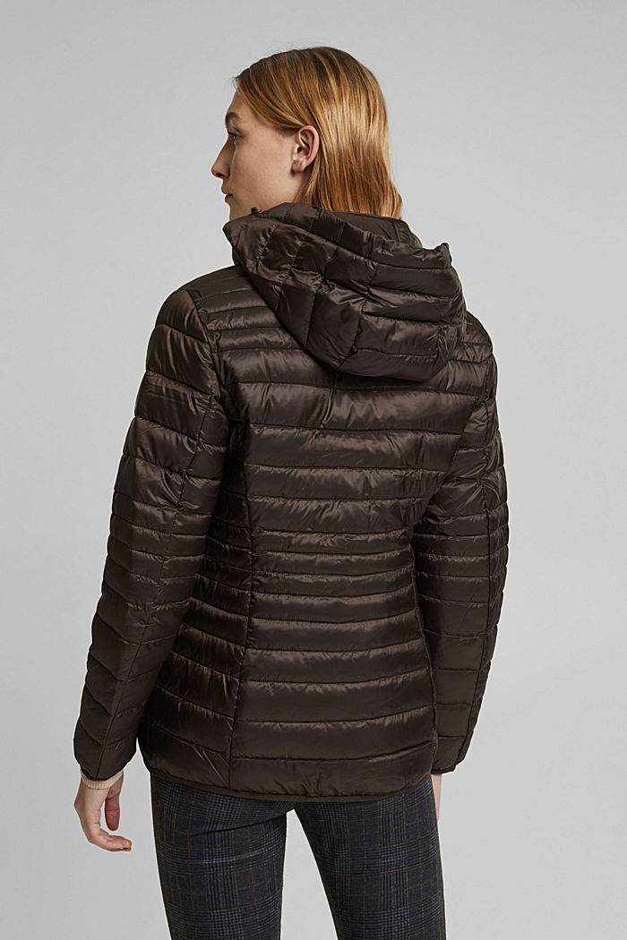 Quilted jacket with 3M™ Thinsulate™ padding, DARK BROWN, detail image number 3