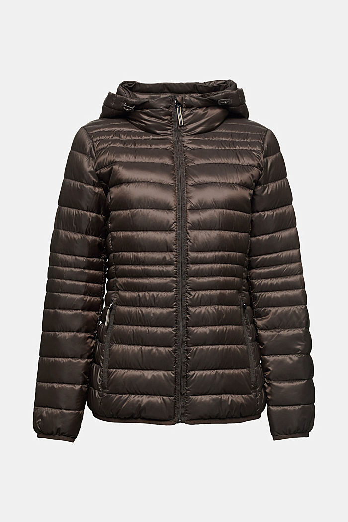 Quilted jacket with 3M™ Thinsulate™ padding, DARK BROWN, detail image number 5