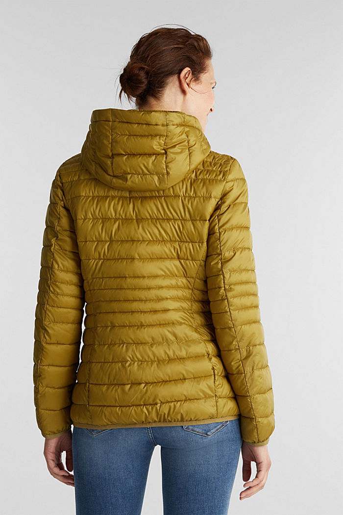 Quilted jacket with 3M™ Thinsulate™ padding, OLIVE, detail image number 3