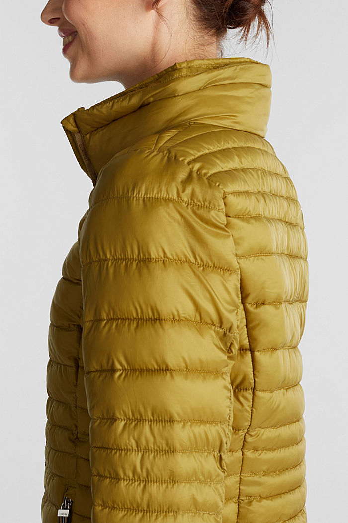 Quilted jacket with 3M™ Thinsulate™ padding, OLIVE, detail image number 2