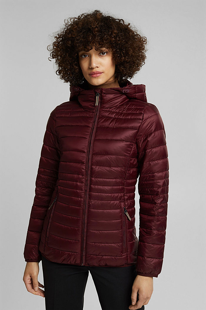 Stepp-Jacke mit 3M™ Thinsulate™, BORDEAUX RED, detail image number 0