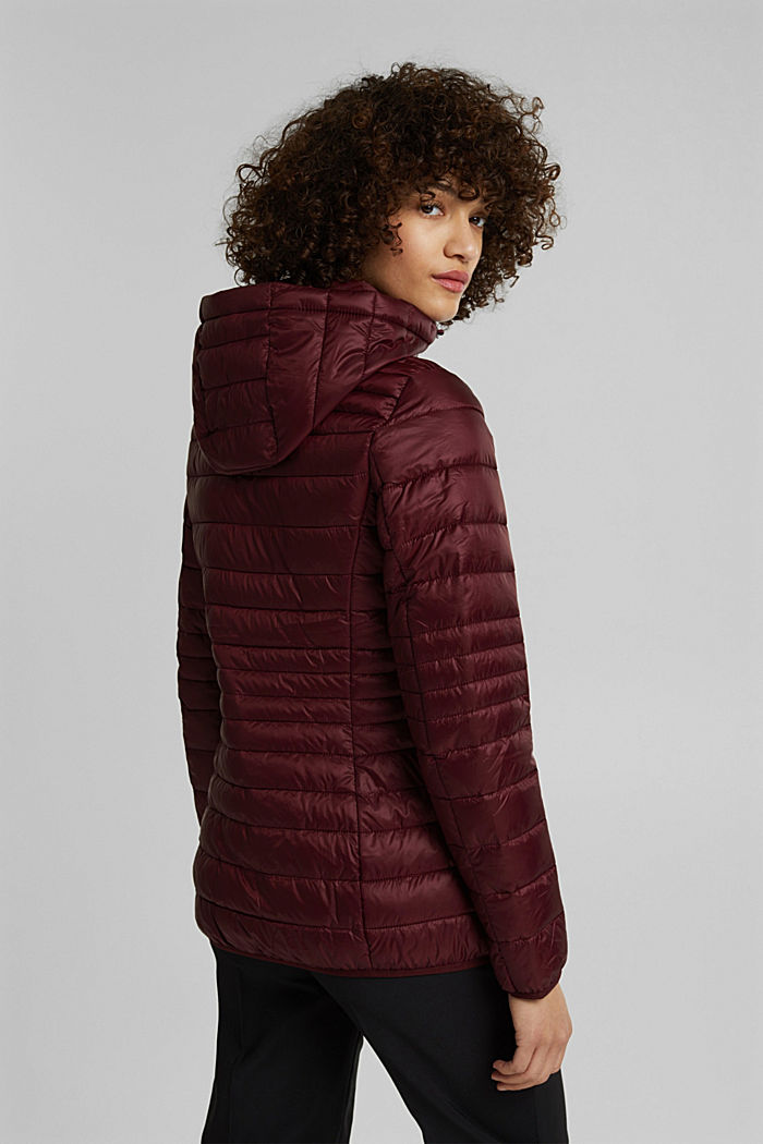 Stepp-Jacke mit 3M™ Thinsulate™, BORDEAUX RED, detail image number 3