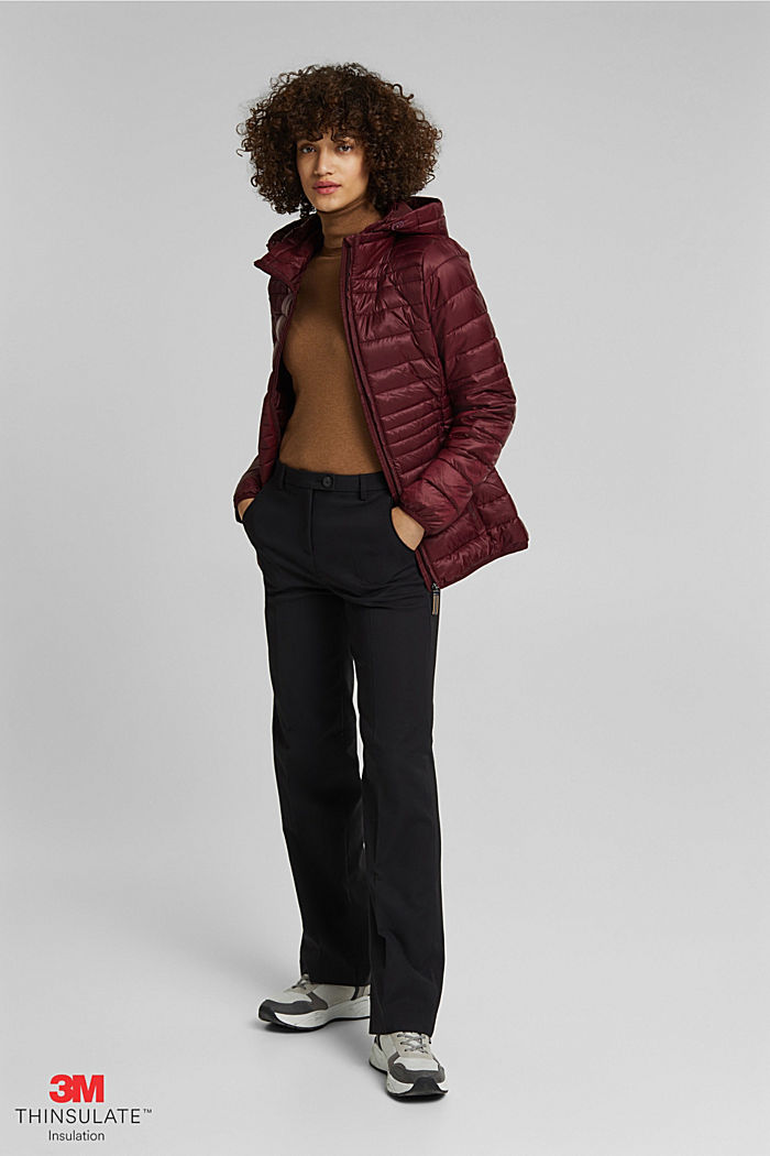 Stepp-Jacke mit 3M™ Thinsulate™, BORDEAUX RED, detail image number 1