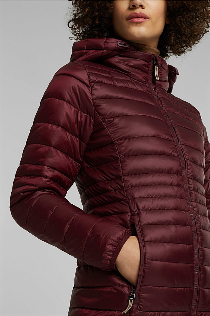 Stepp-Jacke mit 3M™ Thinsulate™, BORDEAUX RED, detail image number 4