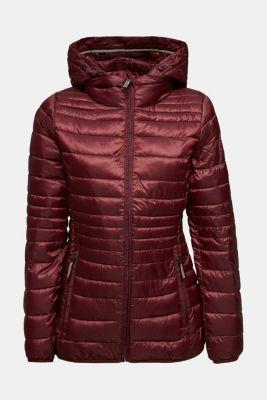 Quilted jacket with 3M™ Thinsulate™ padding, BORDEAUX RED, detail