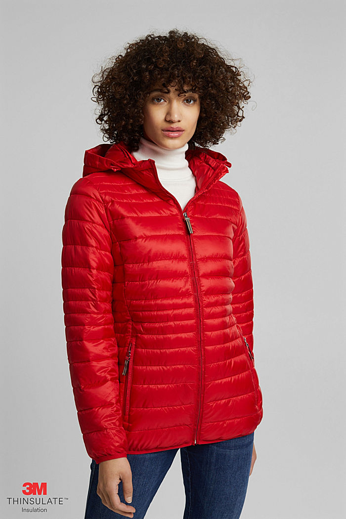 Quilted jacket with 3M™ Thinsulate™ padding, RED, detail image number 0