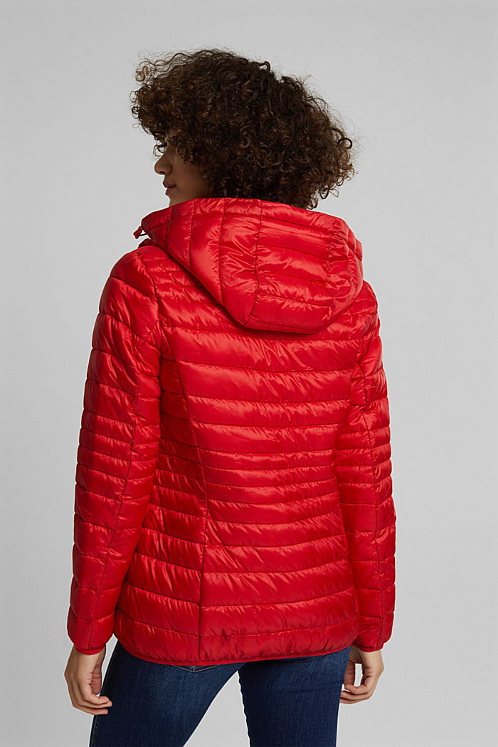 Quilted jacket with 3M™ Thinsulate™ padding, RED, detail image number 3