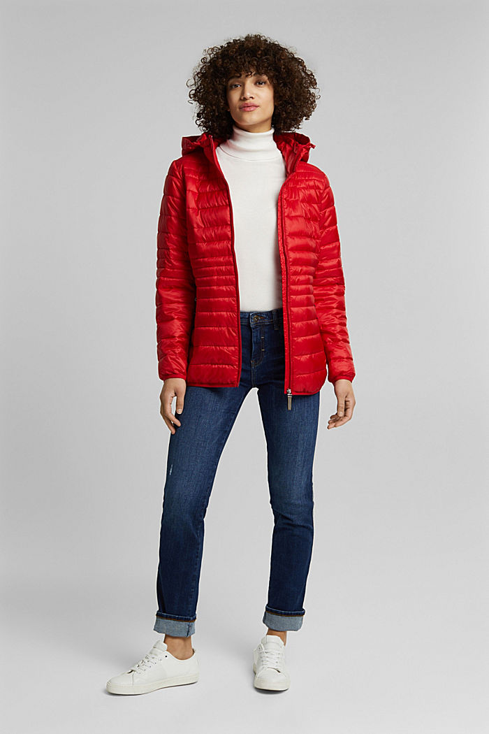 Quilted jacket with 3M™ Thinsulate™ padding, RED, detail image number 1