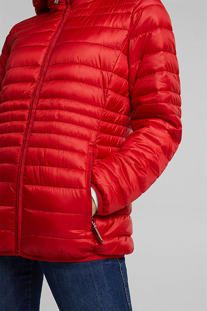 Quilted jacket with 3M™ Thinsulate™ padding, RED, detail image number 2