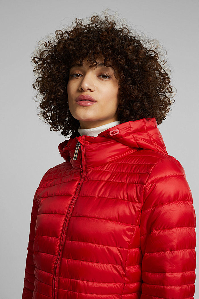 Quilted jacket with 3M™ Thinsulate™ padding, RED, detail image number 4