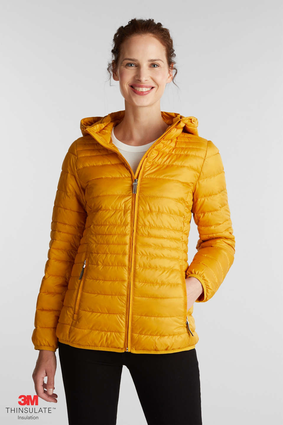 Esprit - Stepp-Jacke mit 3M™ Thinsulate™