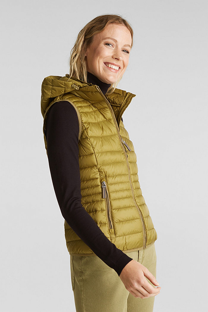 Body warmer with 3M™ Thinsulate™ filling, OLIVE, detail image number 0
