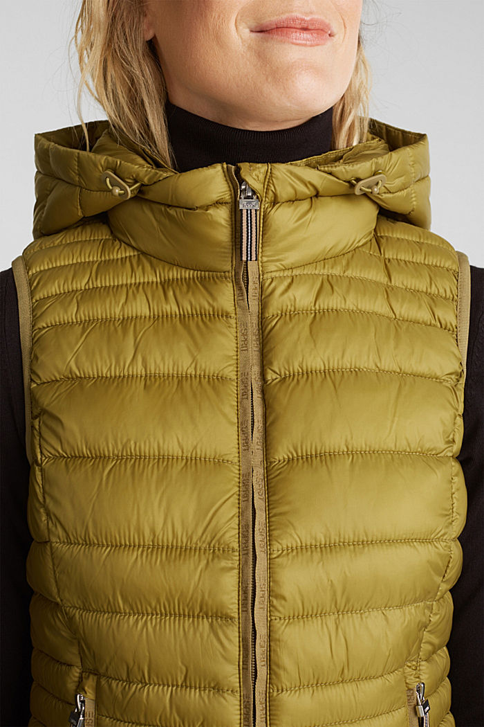 Body warmer with 3M™ Thinsulate™ filling, OLIVE, detail image number 2