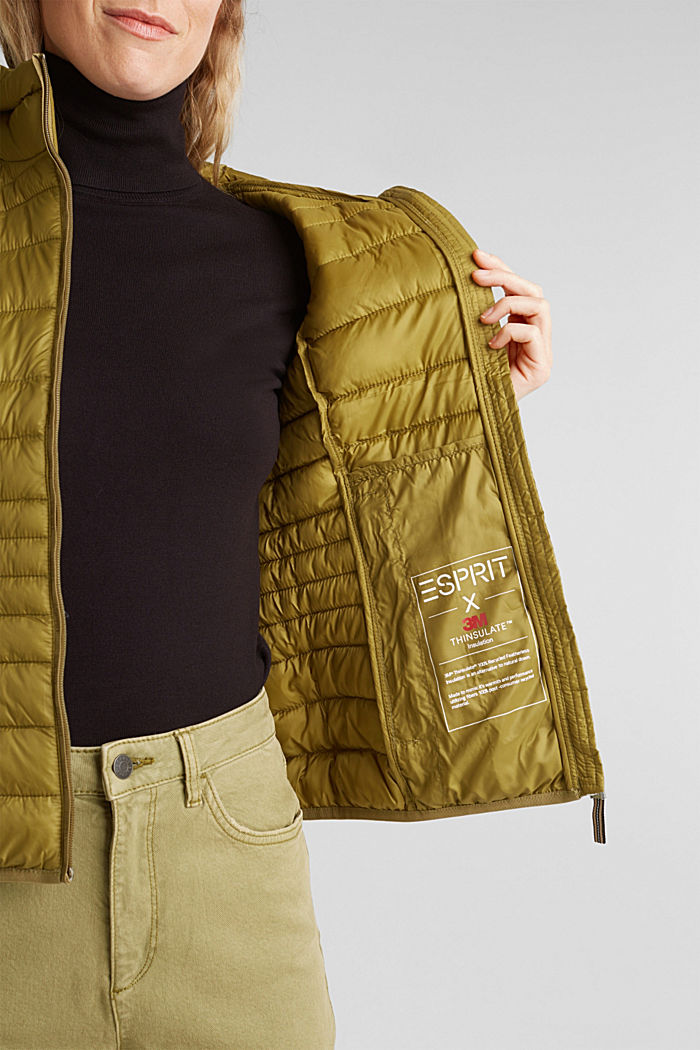 Body warmer with 3M™ Thinsulate™ filling, OLIVE, detail image number 5