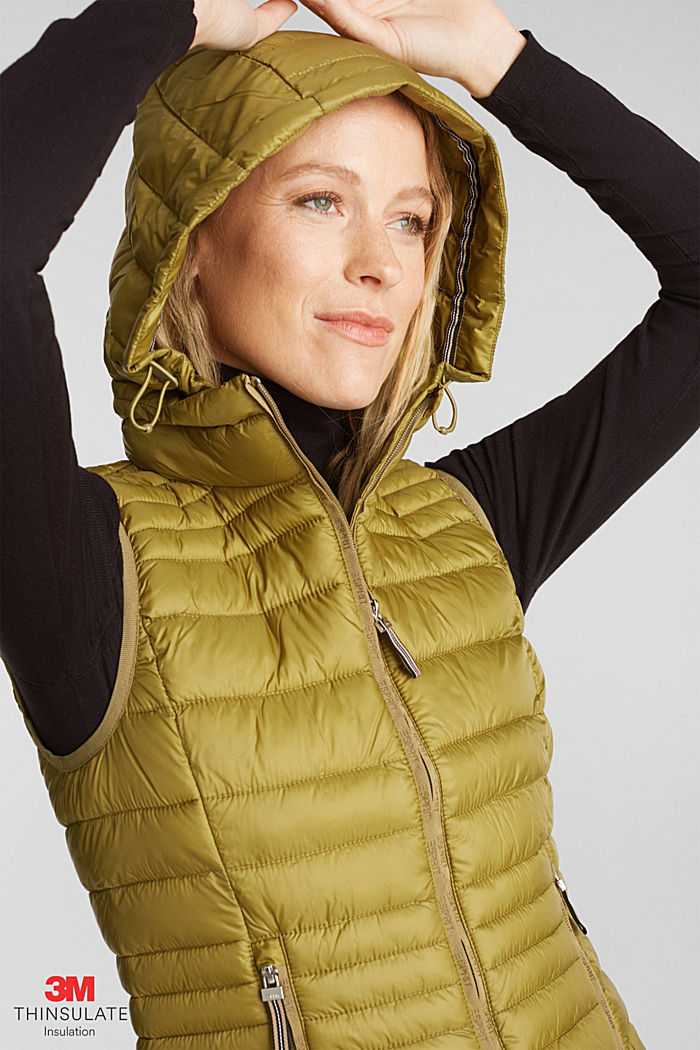 Body warmer with 3M™ Thinsulate™ filling, OLIVE, detail image number 6
