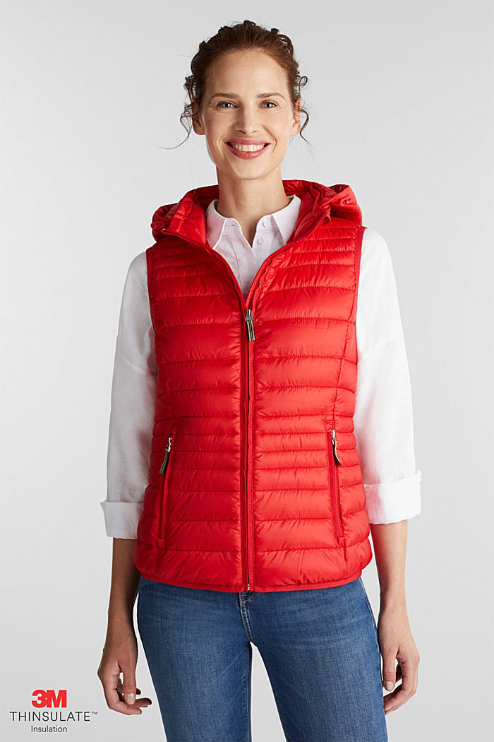 Body warmer with 3M™ Thinsulate™ filling, RED, detail image number 0