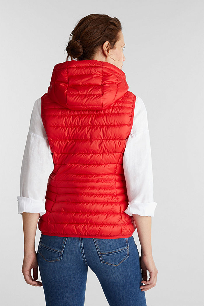 Body warmer with 3M™ Thinsulate™ filling, RED, detail image number 3