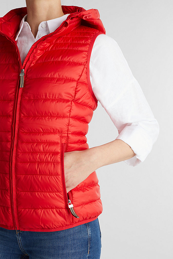 Body warmer with 3M™ Thinsulate™ filling, RED, detail image number 2