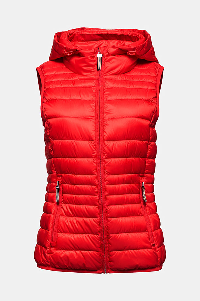Body warmer with 3M™ Thinsulate™ filling, RED, detail image number 6
