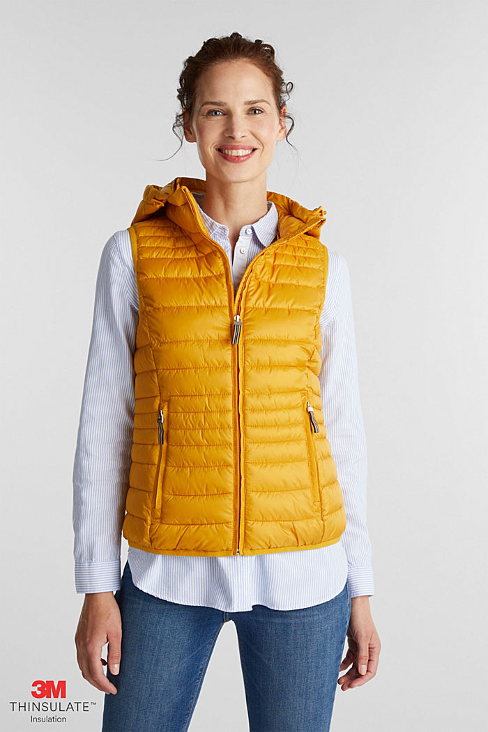 Body warmer with 3M™ Thinsulate™ filling, BRASS YELLOW, detail image number 0