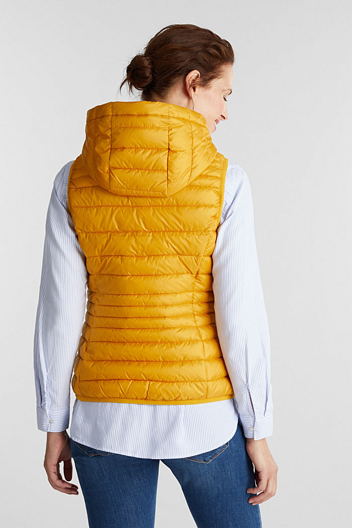 Body warmer with 3M™ Thinsulate™ filling, BRASS YELLOW, detail image number 3