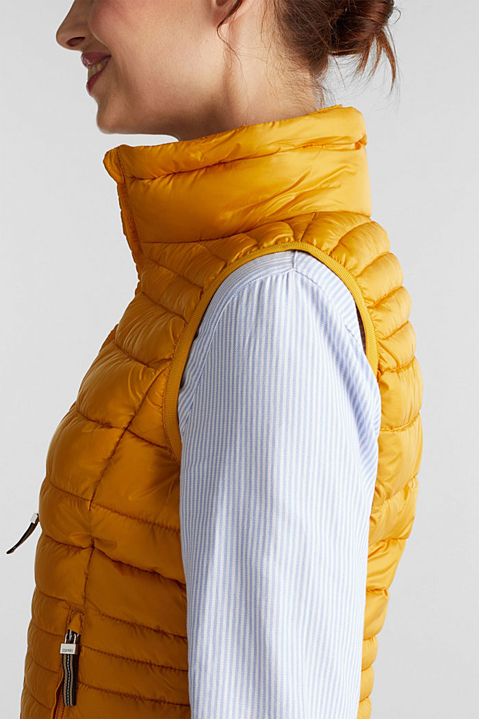 Body warmer with 3M™ Thinsulate™ filling, BRASS YELLOW, detail image number 2
