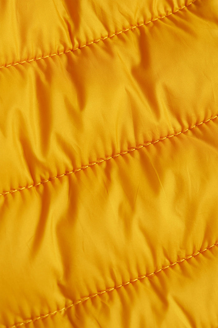Body warmer with 3M™ Thinsulate™ filling, BRASS YELLOW, detail image number 4