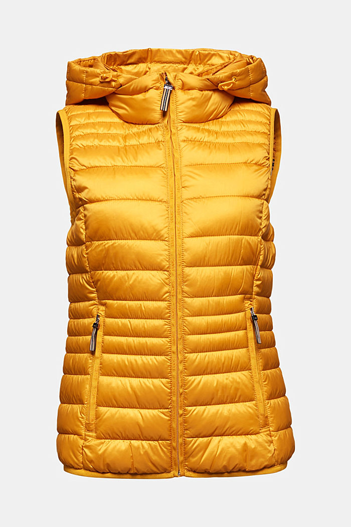 Body warmer with 3M™ Thinsulate™ filling, BRASS YELLOW, detail image number 6