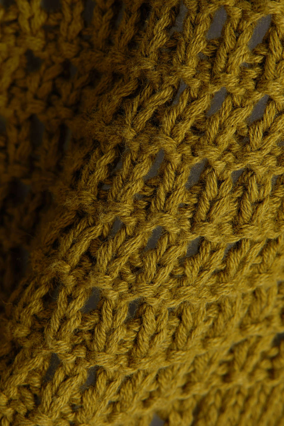 Crocheted jumper made of 100% organic cotton, OLIVE, detail image number 4