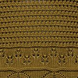 Crocheted jumper made of 100% organic cotton, OLIVE, swatch