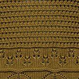 Gehaakte trui van 100% organic cotton, OLIVE, swatch