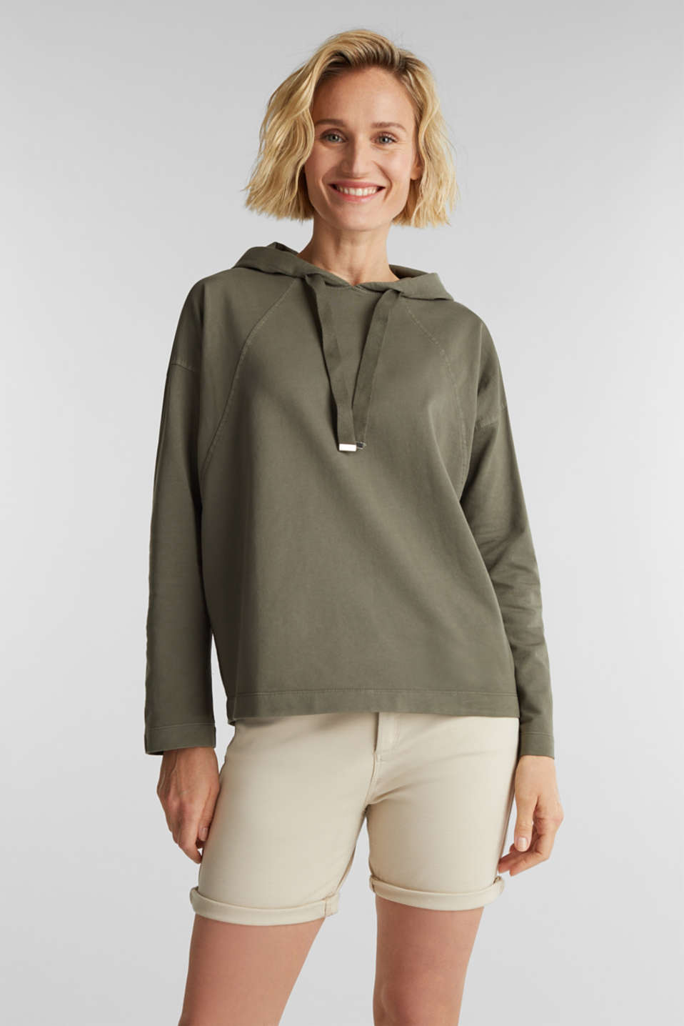 Esprit - EarthColors® Sweatshirt, Organic Cotton