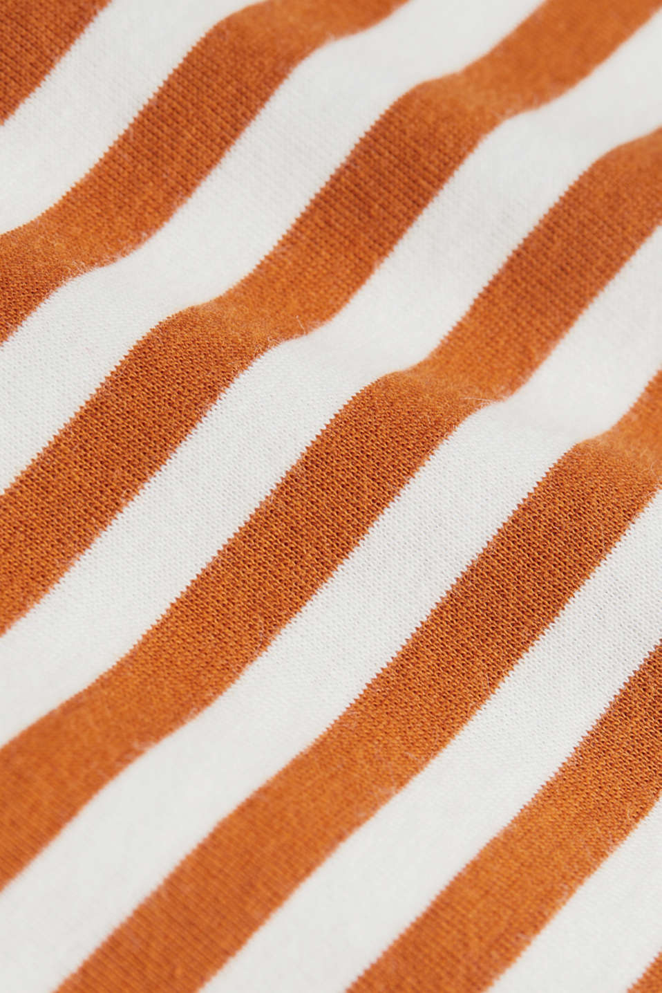 Top made of 100% organic cotton, RUST BROWN 4, detail image number 4